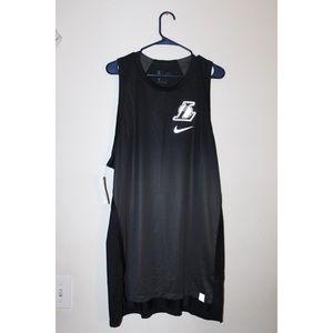 NIKE NBA LA LAKERS SLEEVELESS JERSEY LONG DRESS XL